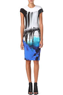 MARY KATRANTZOU San Francisco-print dress
