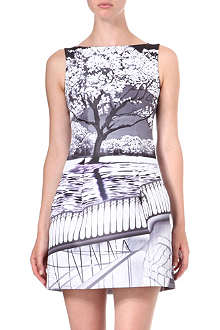 MARY KATRANTZOU Blossom-print dress