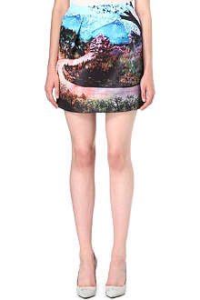 MARY KATRANTZOU Fauwi printed skirt