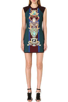 MARY KATRANTZOU Digital-print mini dress