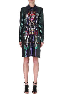 MARY KATRANTZOU Lurex shirt dress