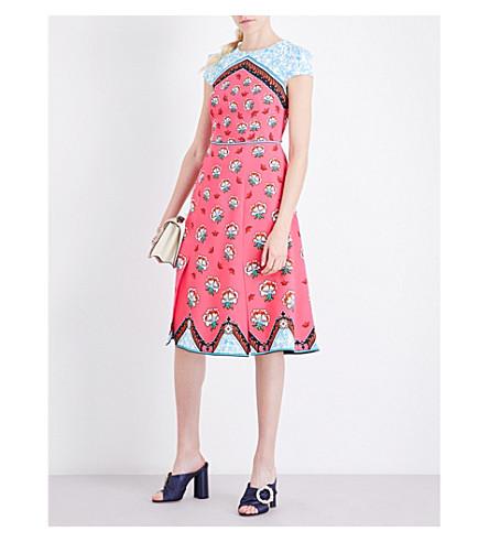 MARY KATRANTZOU Osmond stretch-crepe dress (Kings+fuxia