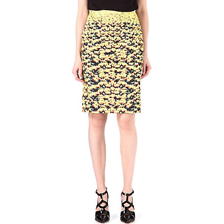 MARY KATRANTZOU Palma pencil skirt (Multi