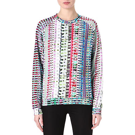 MARY KATRANTZOU Trellick Tower sweatshirt (Multi