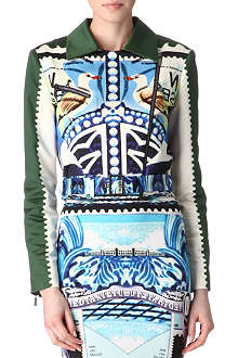 MARY KATRANTZOU Star Sailor biker jacket