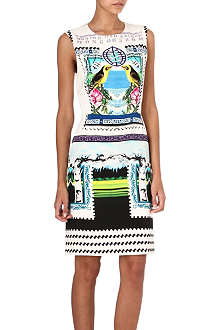 MARY KATRANTZOU Rodizio crepe dress
