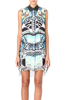 MARY KATRANTZOU Star Sailor shirt dress