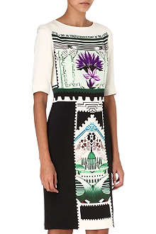 MARY KATRANTZOU Viola Botanist dress