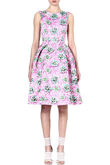 MARY KATRANTZOU Floral-print flared dress