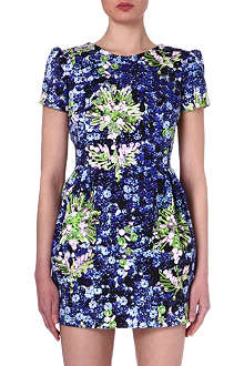 MARY KATRANTZOU Floral-print dress