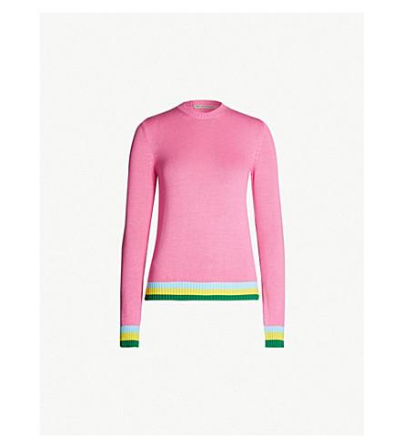 MARY KATRANTZOU Lizzie striped cotton jumper (Ortensia