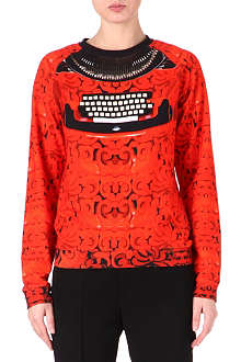 MARY KATRANTZOU Typewriter sweatshirt