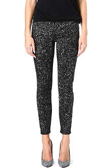 PROENZA SCHOULER High-waisted speckle jeans