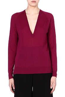 PROENZA SCHOULER V-neck merino wool jumper