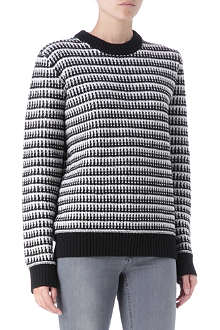 PROENZA SCHOULER Two-tone jumper