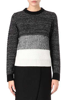 PROENZA SCHOULER Collage crew-neck jumper