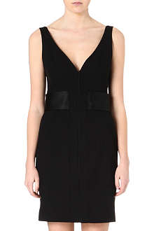 PROENZA SCHOULER Silk-detailed crepe dress