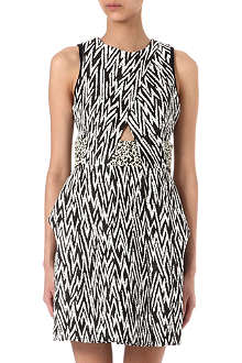 PROENZA SCHOULER Zig-zag tweed dress