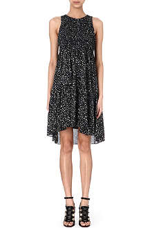 PROENZA SCHOULER Printed silk smock dress