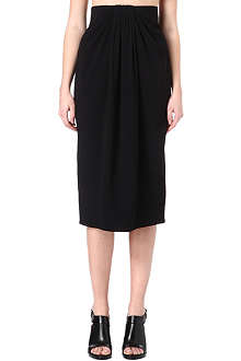 PROENZA SCHOULER Gathered-front pencil skirt