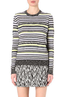 PROENZA SCHOULER Striped knitted jumper