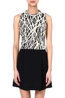 PROENZA SCHOULER Twig print dress