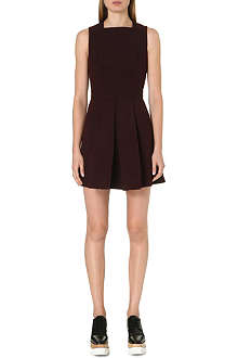 PROENZA SCHOULER Pleated-skirt wool-blend dress