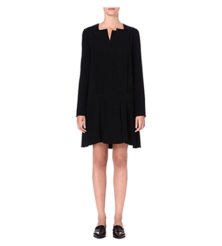 PROENZA SCHOULER Pleated crepe tunic dress (Black