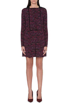 PROENZA SCHOULER Abstract print pleat dress