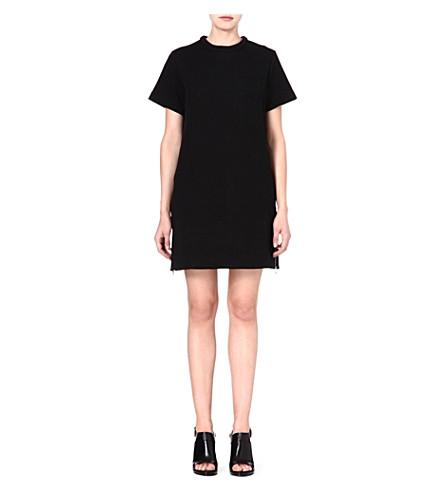 PROENZA SCHOULER Neoprene t-shirt dress (Black