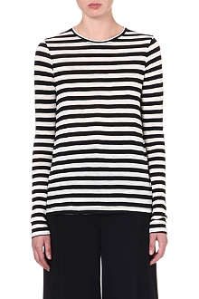 PROENZA SCHOULER Striped cotton top