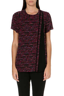 PROENZA SCHOULER Abstract print panel top