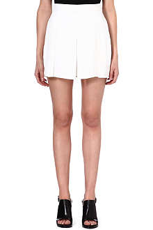 PROENZA SCHOULER Pleated crepe shorts