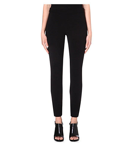 PROENZA SCHOULER Cropped slim-fit trousers (Black