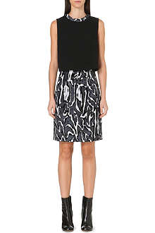 PROENZA SCHOULER Overlay animal print dress