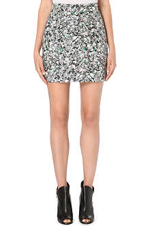 PROENZA SCHOULER Abstract print mini skirt