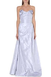 VIVIENNE WESTWOOD Trinket silk bustier gown