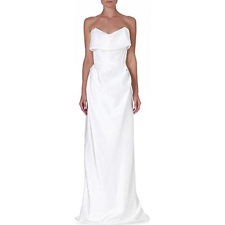 VIVIENNE WESTWOOD Cocotte S.O.L gown (Tartan