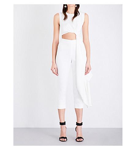 ROKSANDA Thurloe crepe jumpsuit (Ivory