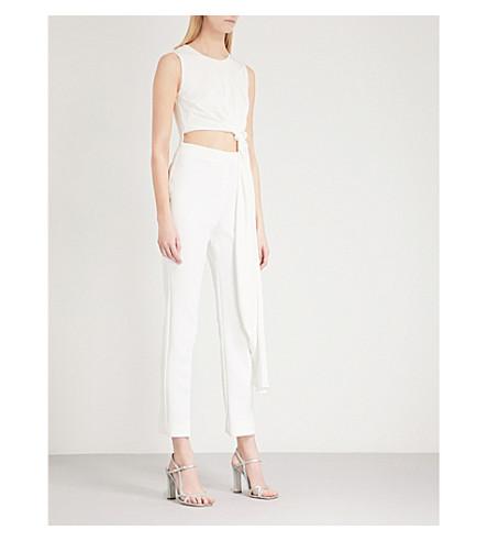 ROKSANDA Thurloe silk-blend jumpsuit (Ivory