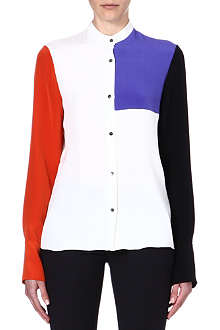 ROKSANDA ILINCIC Phia colour-block silk blouse