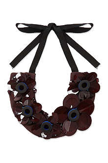 ROKSANDA ILINCIC Layered flower necklace