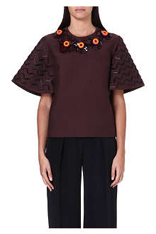ROKSANDA ILINCIC Arella embellished top