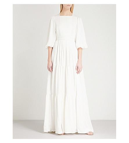 ROKSANDA Aubert silk dress (Ivory