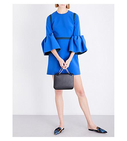 ROKSANDA Hadari bell-sleeve stretch-jersey dress (Eletric+blue