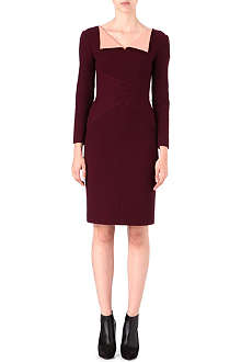 ROKSANDA ILINCIC Flap-collar knitted dress