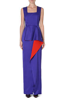 ROKSANDA ILINCIC Sleeveless satin gown