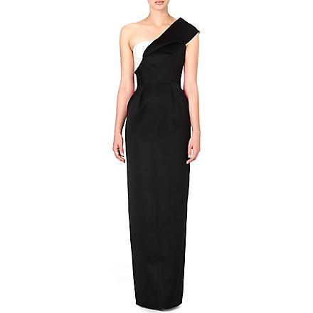 ROKSANDA ILINCIC Naida colour-block gown (Black