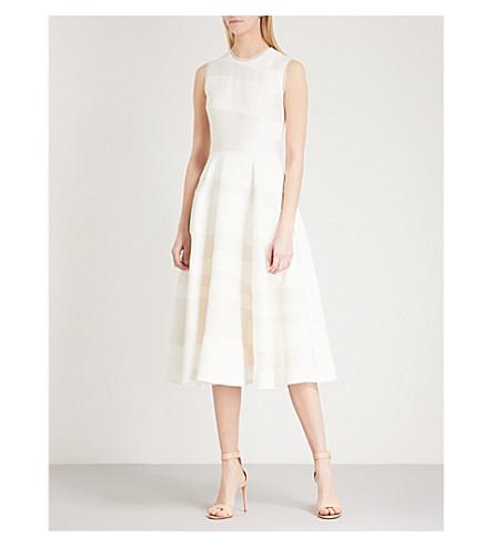 ROKSANDA Tatum crepe dress (Ivory