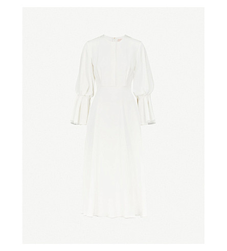 ROKSANDA Ophelia silk dress (Ivory